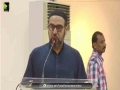 [Mehfil-E-Mushaira] Topic : فلسطین فلسطینیوں کا وطن | Speech - Moulana Hashim Moosavi - Urdu