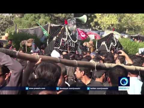 [22 November 2016] Karachi , Kashmir marks Arbaeen with large processions   Press TV English