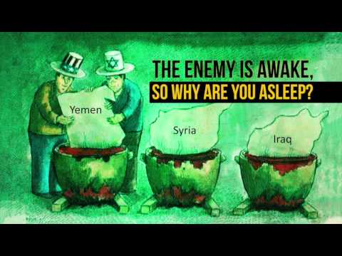 The enemy is awake, so why are you asleep? | Leader of the Muslim Ummah | Farsi sub English