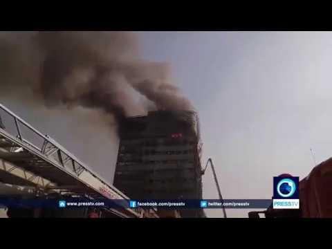 [19 Jan 2017] Iconic shopping center collapses in Tehran after devastating fire - All Languages