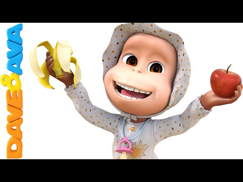 Apples and Bananas Song | Nursery Rhymes and Baby Songs - English