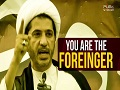 You are the Foreinger | Bahraini Revolutionary Song | Arabic sub English