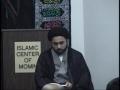 Maulana Nabi Raza Abidi - Death and Respect for Parents - Urdu and English