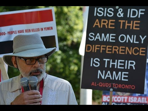 Br Ken Stone at Toronto Al-Quds Day Rally 2017