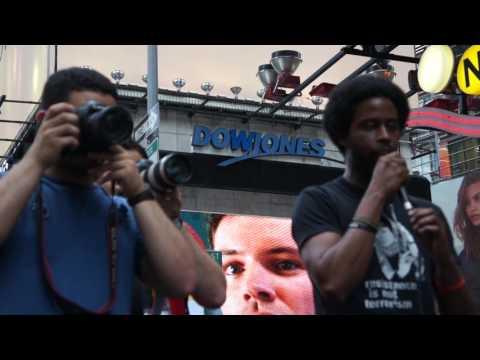 Al-Quds Day, New York: Mike Bento, Black Lives Matter - English