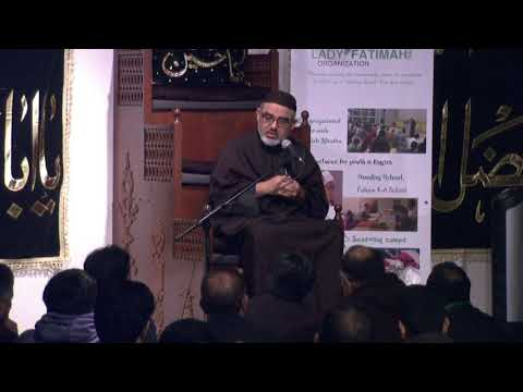 [08]حسینیت نصرت حسین اور عصر حاضر کے تقاضے Maulana Ali Murtaza Zaidi  2017/1439 AH Urdu