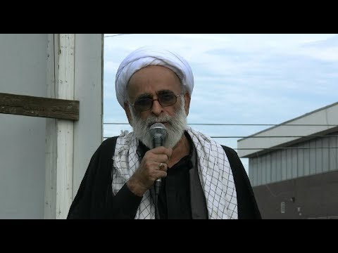 Speech by Moulana Haider Ali Jawwadi - Toronto Protest & Azadari at Pakistan consulate General - Urdu
