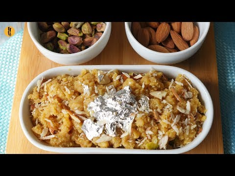 Besan ka Halwa Recipe By Food Fusion - All Languages