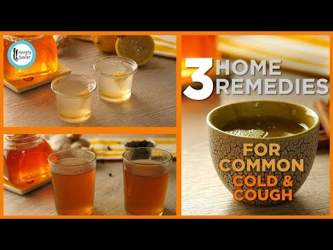 3 Home Remedies for Common Cold,Flu & Cough - English Urdu