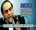 America tells us to have Fewer Children | Dr Rahimpour Azghadi | Farsi sub English