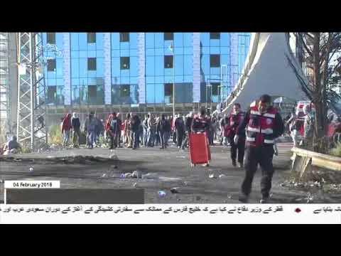 [04Feb2018] غرب اردن میں صیہونی فوجیوں کی جارحیت، ایک فلسطینی شہید  - Urdu