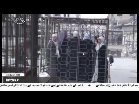 [05Mar2018] شامی فوج نے غوطہ شرقی میں الشیفونیہ قصبے کو دہشت گردوں کے قب