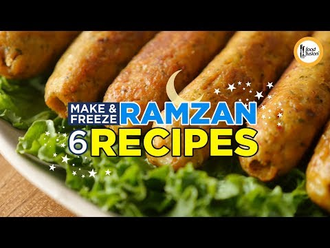 [Quick Recipes] 6 Make & Freeze Ramzan Recipes - English and Urdu
