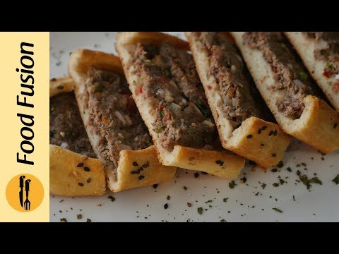 [Quick Recipes] Turkish Pide 2 ways (Meat/cheese Pizza Like Bread) - English Urdu