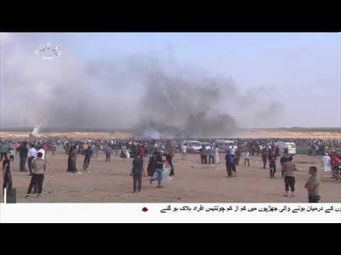 [16Jun2018] غرب اردن کے شہر جنین پر صیہونی فوجیوں کا حملہ- Urdu