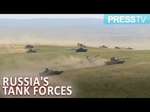 [15 September 2018] Russia\'s tank force and military police take part in major drills - English