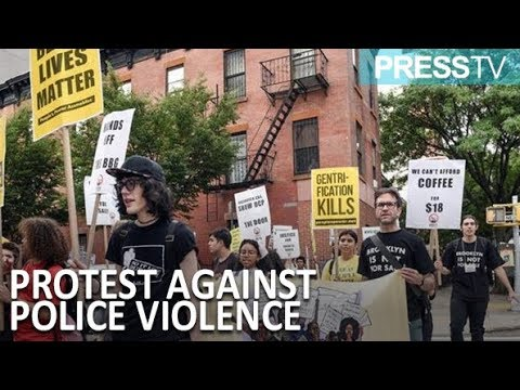 [16 September 2018] New Yorkers protest gentrification, police violence  - English