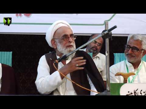 [Speech] H.I Haider Ali Jawadi   Seerat Ali (as) Nijaat e Bashariyat Convention 2019 - Sindhi