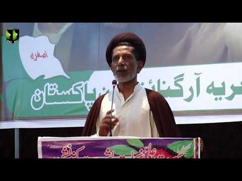[Speech] Moulana Mukhtar Ali Rizvi   Seerat Ali (as) Nijaat e Bashariyat Convention 2019 - Sindhi