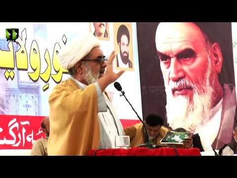 [Speech] H.I Hasan Salahuddin   Noor-e-Wilayat Convention 2019   Imamia Organization Pakistan - Urdu