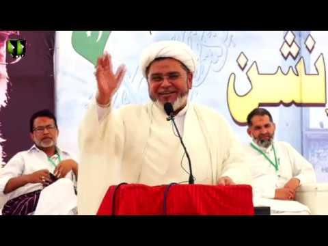 [Speech] Moulana Shabbir Hasan Maisami   Noor-e-Wilayat Convention 2019   Imamia Organization - Urdu