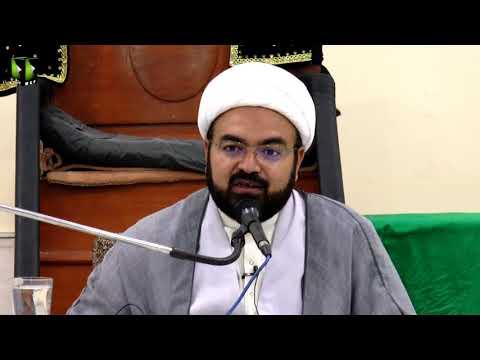 [Lecture 3] Topic:  امام مہدی کی غیبت و امام غائب کے فوائد |  H.I Ali Asghar Saifi - Urdu