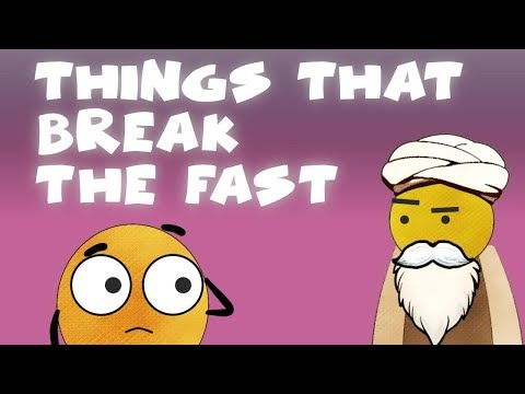 Things Which Break The Fast | BISKITOONS | English