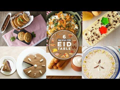 [Quick Recipes] 6 Recipes for Eid Table - English Urdu