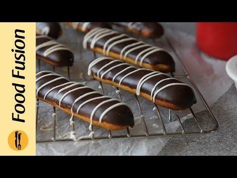 [Quick Recipes] Chocolate Eclairs - English Urdu