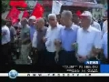 Palestinians rally in Gaza with calls on factions to end rifts - 25Jul09 - English