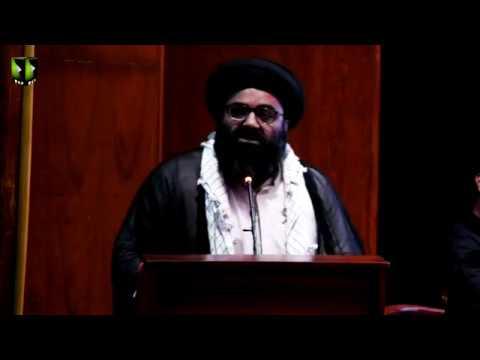 [Youm-e-Hussain as] H.I Kazim Abbas Naqvi | NED University | Safar 1441 - Urdu