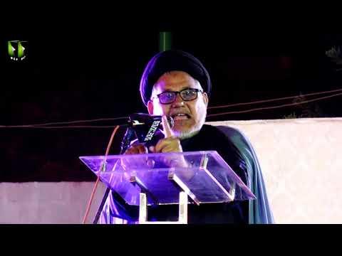 [Speech] Tahafuz-e-Namoos-e-Imam Mehdi (as) Conference   H.I Hasan Zafar Naqvi - Urdu
