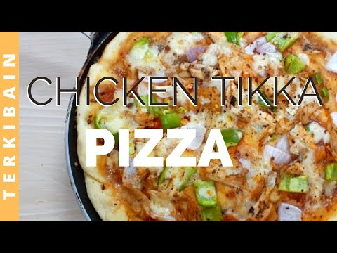 Pizza Recipe   Chicken Tikka Pizza Recipe   Urdu