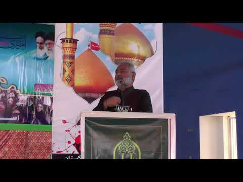 [2nd Convention of Asgharia Ilm o Amal Thareek] Speech of Syed Sajid Kazimi - Sindhi