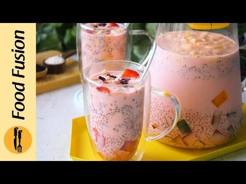 [Quick Recipe] Tapioca Salad Drink | Refreshing Sabudana Salad Drink - English & Urdu/Hindi