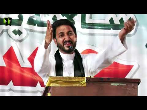 [Speech] Youm-e-Hussain (as) 1443   Janab Muzaffar Rizvi   Federal Urdu University, Karachi   Urdu