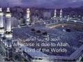 Suratul Fatihah-Arabic Subtitle English