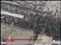 short clip huge demostration - farsi