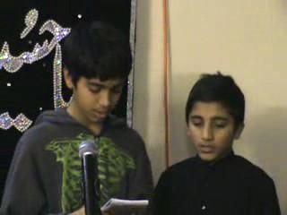 [Noha] Mujh Pey Kyun Band Kertey hoo Pani -Urdu