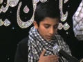 [Noha] Amman Fizza Bata Dey Muj koo Pather kyun Aarahey Hain -Urdu