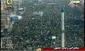 Iran Public United behind their Leadership - Watch masses - 11Feb10 - Farsi