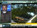 Imam Abdul Aleem Mossa giving Cause and Reson for Terrorist Act on IRS Building in Austin - English