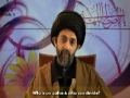 Chains of Noor 1 - Who is an Aalim? - H.I. Abbas Ayleya - English