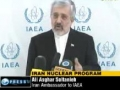 Iran reiterates nuclear program is peaceful Wed Mar 9, 2011 10:21PM English