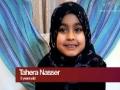 Why I wear Hijab - 6 year old Taheera Nasser - English