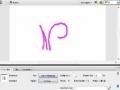 Flash Animated Vines Floral keyframe masking tutorial - Mask Tip - English