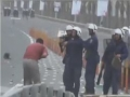 [Viewer Discretion] Police shooting a Bahraini Protester in Face 2 - 13 Mar 2011 - All Languages
