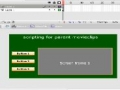 ActionScript for parent movieclips in your fla file - Flash Tutorial - [English]