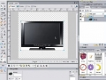 Flash CS4 Tutorial - Distort or Skew Video Perspective in Flash AS 3.0 - 3D Rotation Tool - [English]