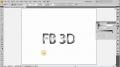 Custom 3D Logo and Text Creation Tutorial - Illustrator CS4 - English